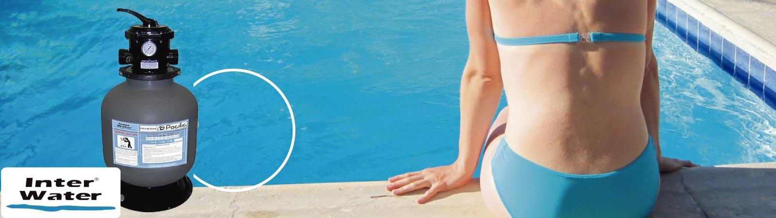 Filtros para Albercas marca Inter Water